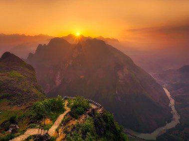 vietnam beautiful sunsets