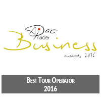 2016 Best Asia holidays tour operator award