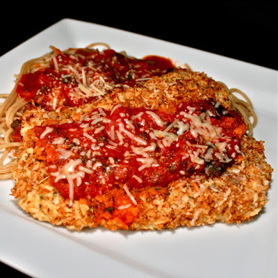 Chicken Parmesan Lightened Up