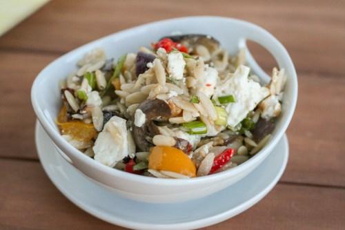 Roasted Vegetable & Feta Orzo