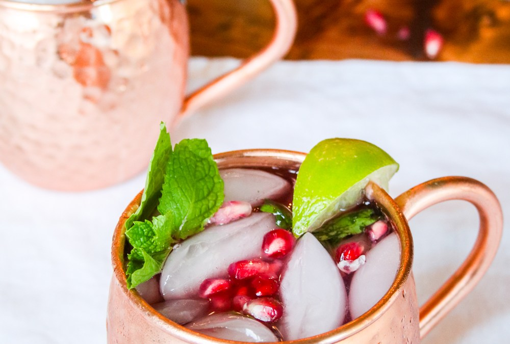 Pomegranate Mint Moscow Mule