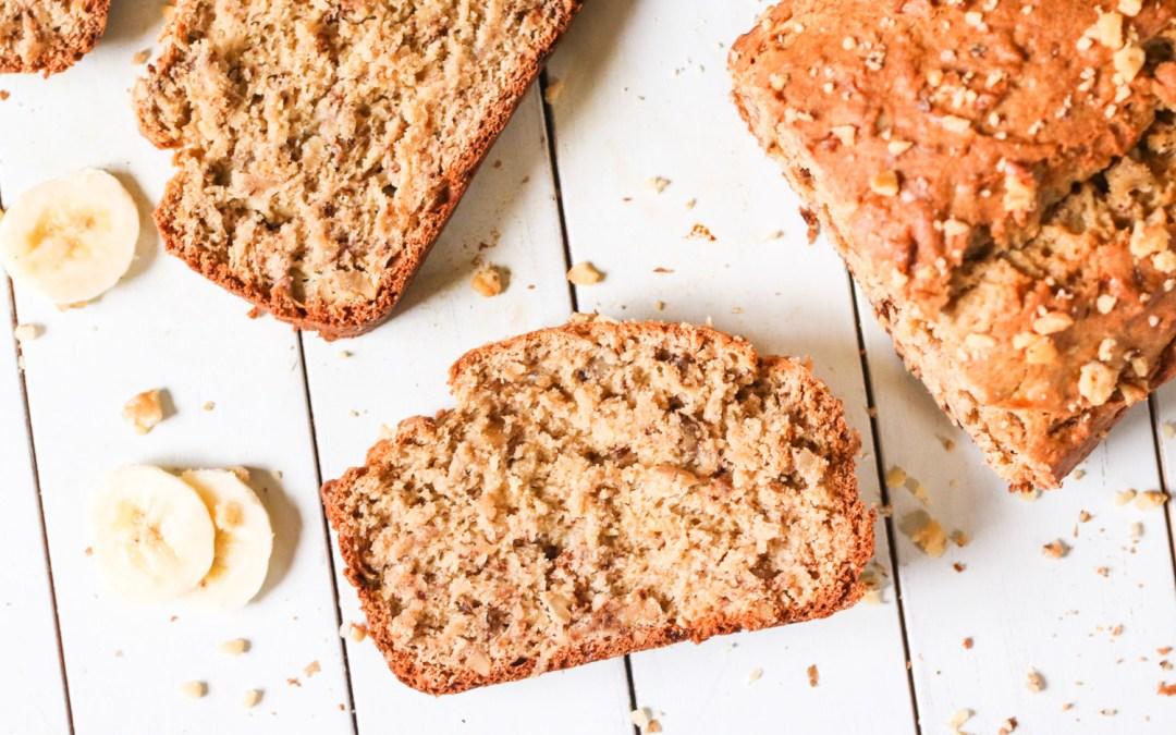 The BEST Gluten Free Banana Bread