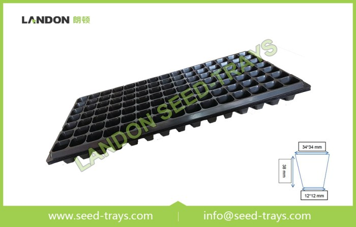 105 cell seed-trays