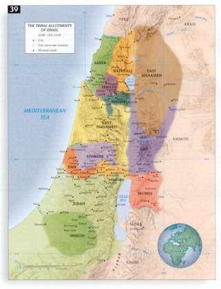 Tribal Allotments Israel