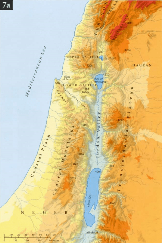 Geographic Zones of Israel