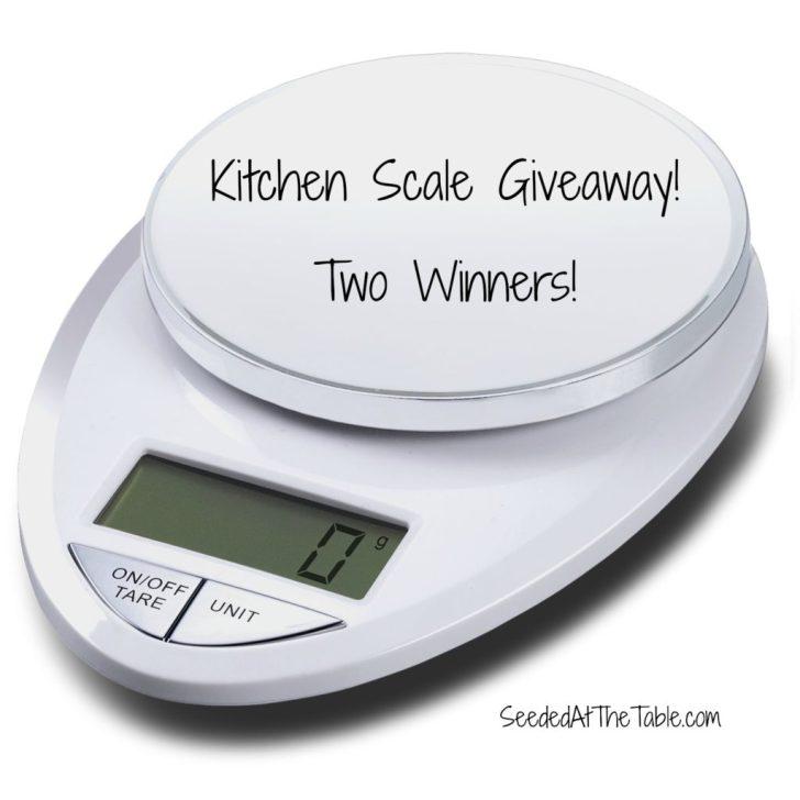 Eatsmart Precision Pro Kitchen Scale Giveaway Closed