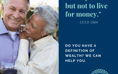 What is wealth – Money is only a tool
