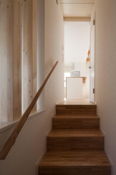 階段見上げ