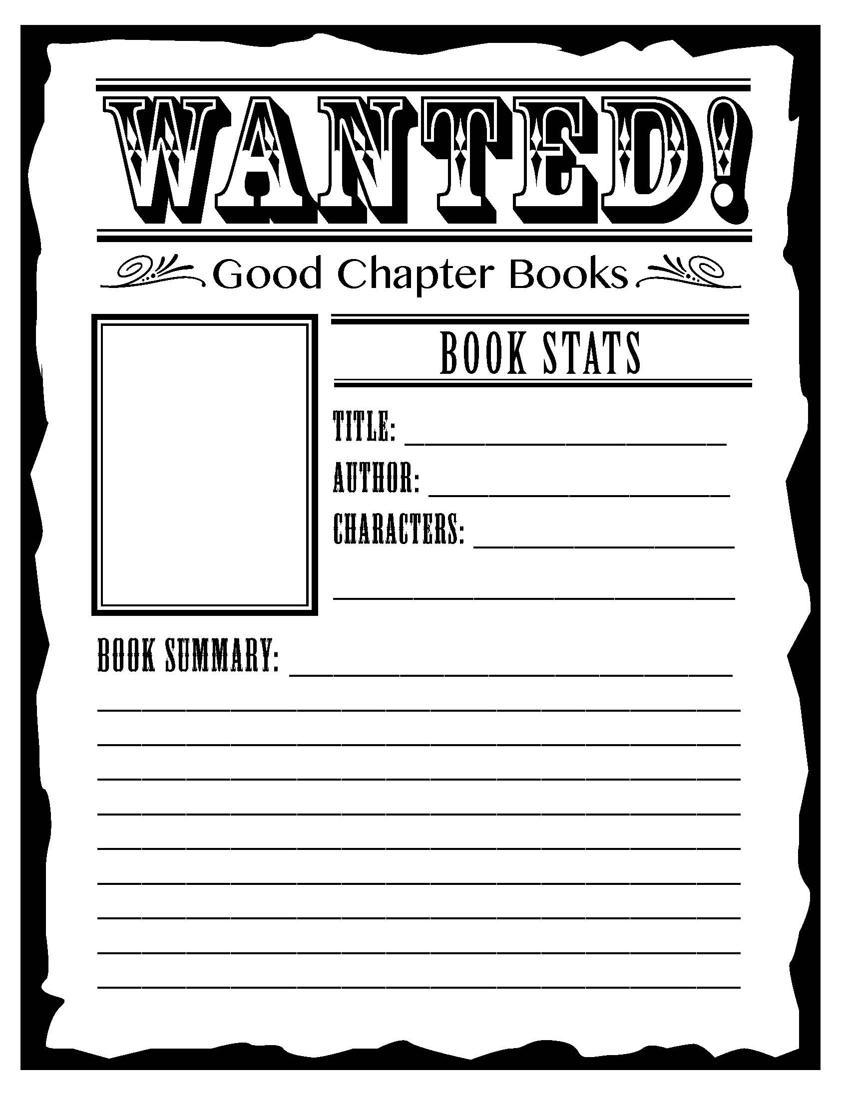 Wanted 4th Grade Reading Ideas For Summarizing A Story