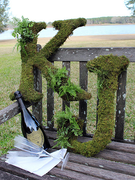 A Green Affair Decorating With Moss Peony Events