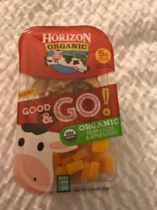 Horizon Good & Go cheese and crackers