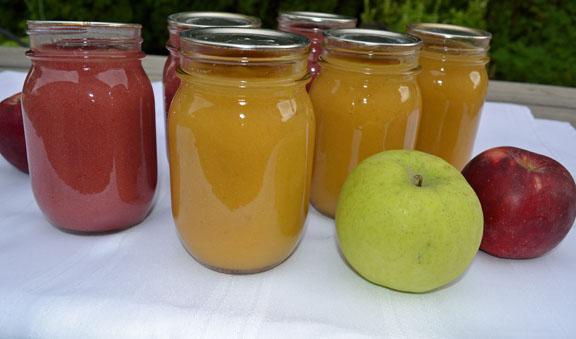 flavored applesauce