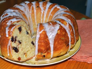 Easter Babka bread
