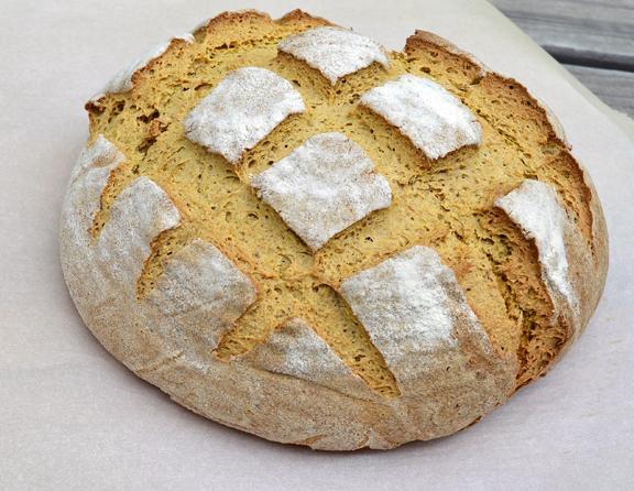 sourdough carrot bread