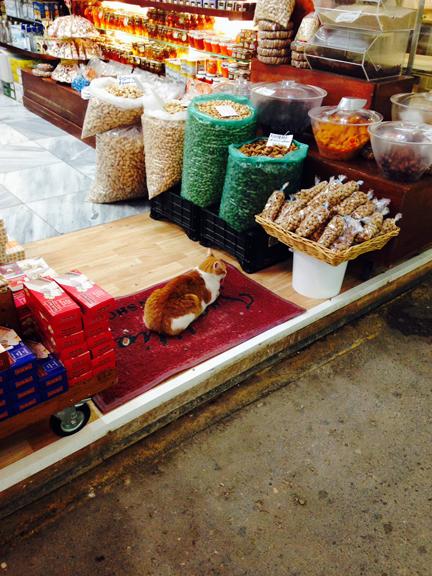 market in Chania Crete