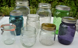 collectable canning jars