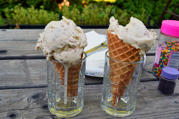 Grape-Nuts ice cream