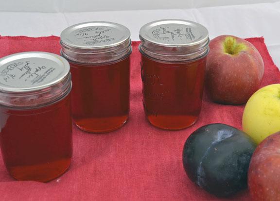 apple plum jelly