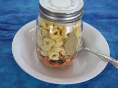 Tortellini Soup in a Jar