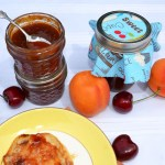 Small Batch Spirited Apricot-Cherry Butter