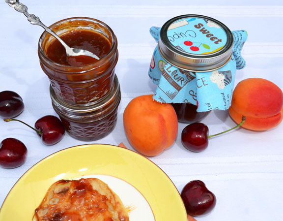 apricot cherry butter
