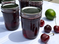 Cherry-Lime Jam Recipe