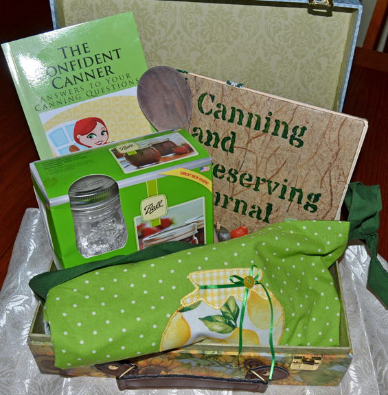 gift basket for canners