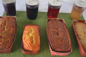 orange raspberry quick bread