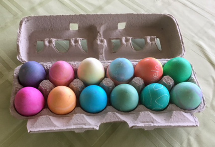 leftover Easter eggs