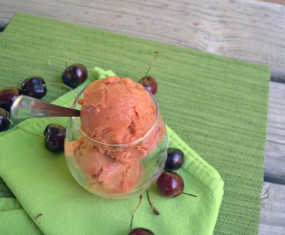 non dairy cherry ice cream