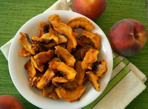 macerated dried peaches