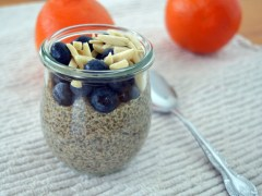 Orange Vanilla Chia Pudding