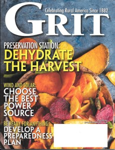 September October 2020 Grit magazine