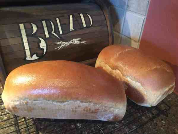 Finished bread!