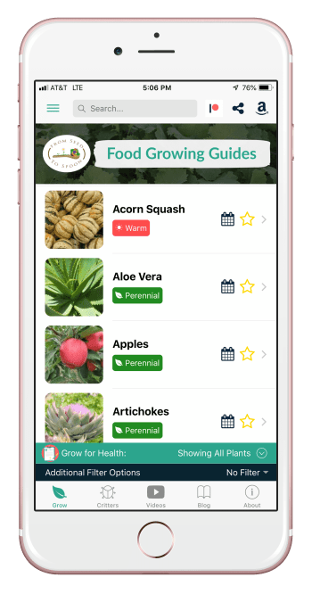 food growing guides