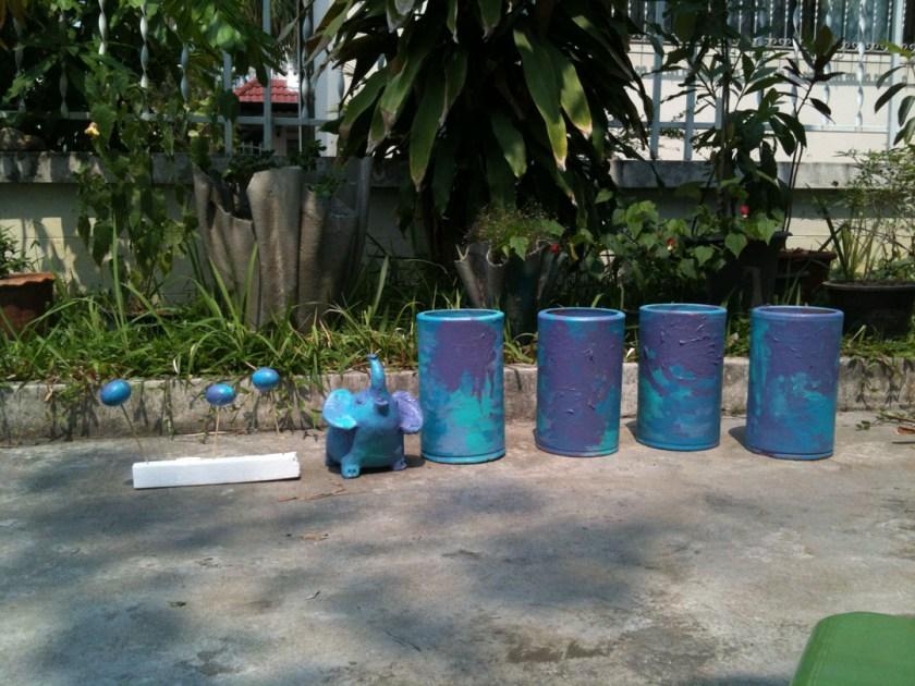pots paint