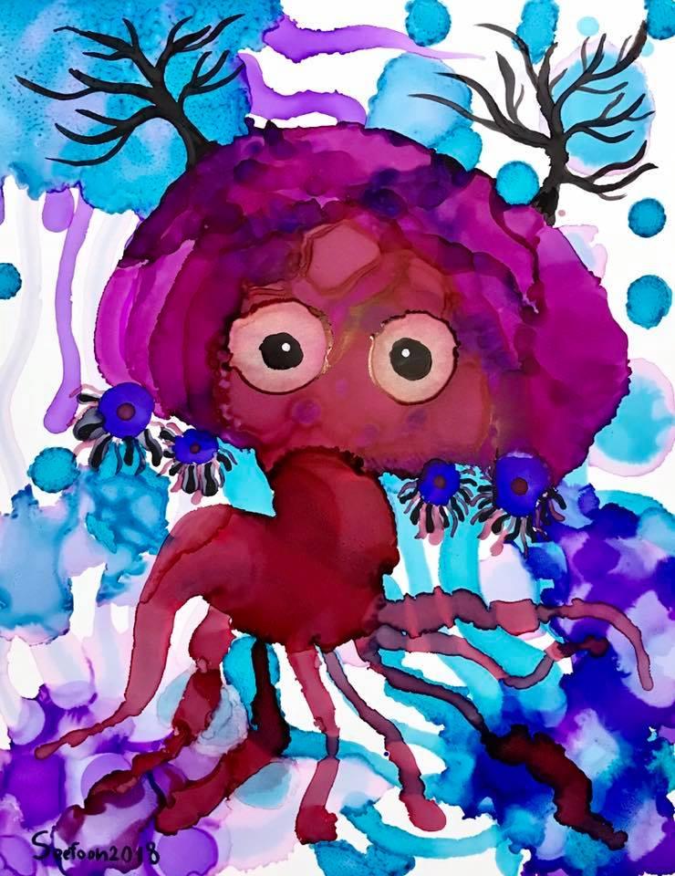 Deer jellyfish