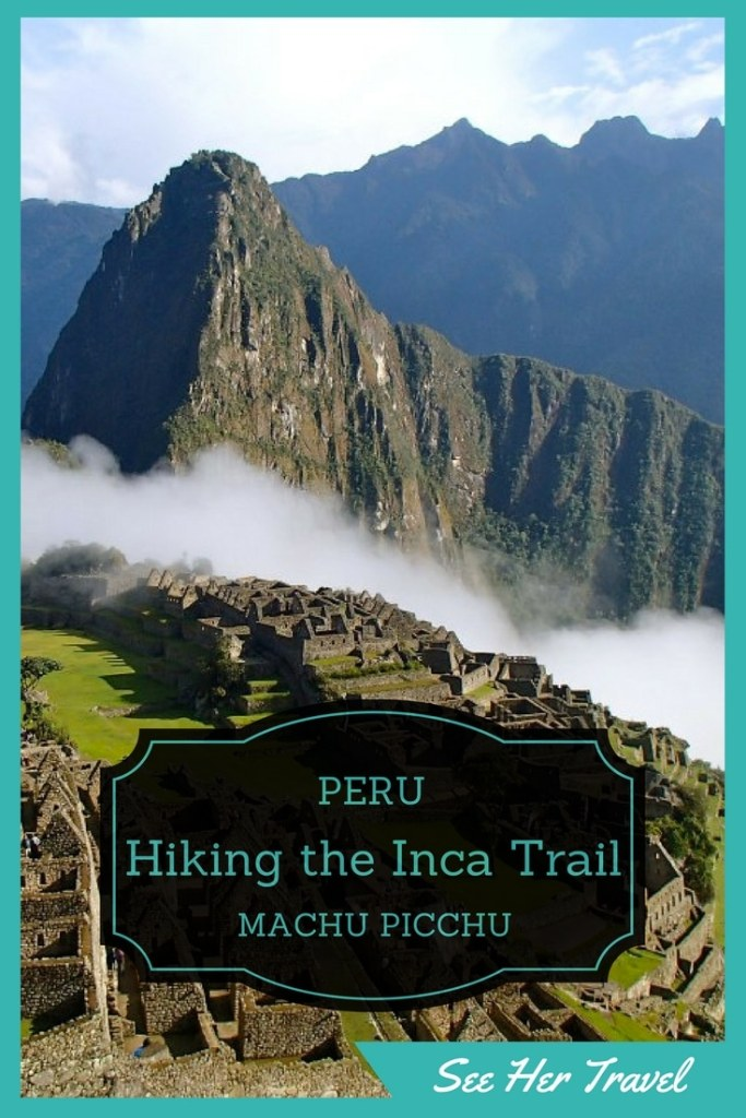 The Inca Trail in Peru is one of the ultimate Bucket List items for many travelling trekkers. And it really is an amazing experience culminating at the formidable Machu Picchu! www.seehertravel.com