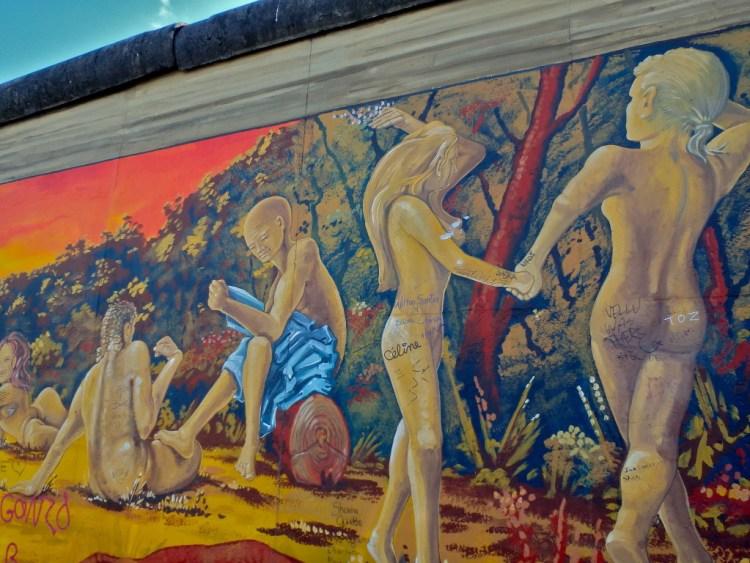 East Side Gallery Berlin Wall top places to visit in berlin