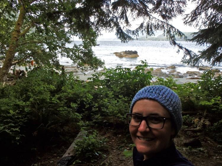 West Coast Trail hiker