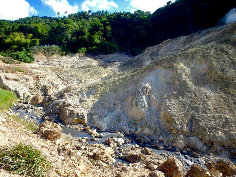 geothermal volcano St. Lucia Sulphur Springs