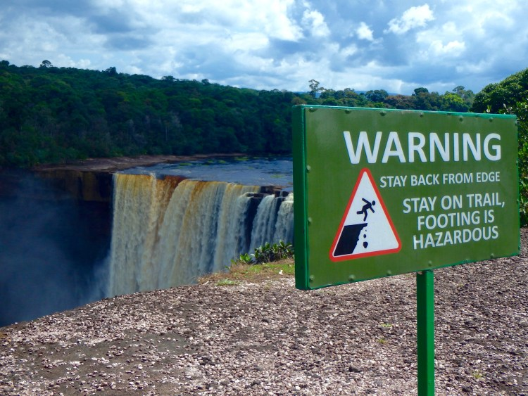 safety at kaieteur falls best places to visit in guyana