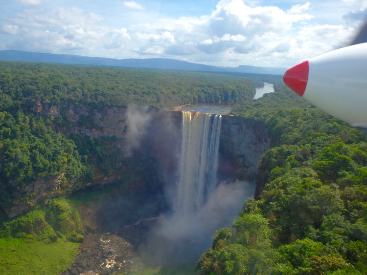 kaieteur falls in guyana worlds tallest waterfall places to visit in guyana