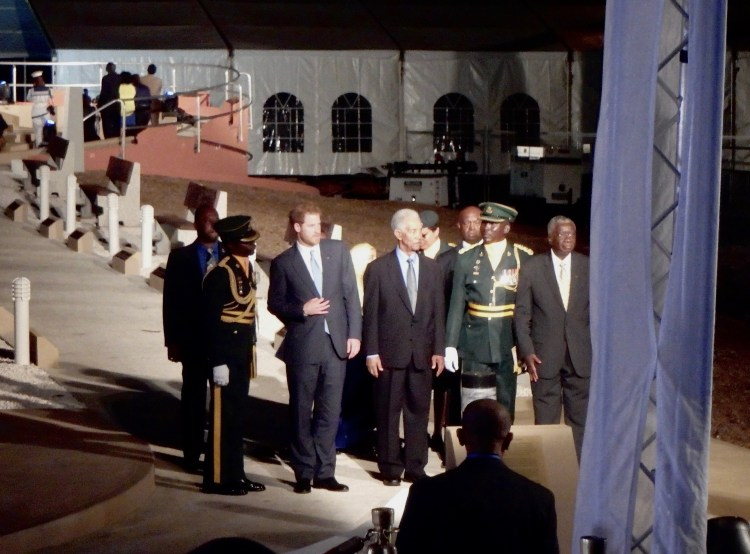 Prince Harry celebrates Barbados 50th anniversary of independence travel blog