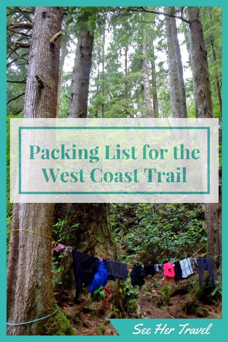 The West Coast Trail on Canada's Vancouver island is a formidable hike. Making or breaking this 7 day trek is what and how you pack your backpack! Check out my packing mistakes and my wins from my experience hiking the West Coast Trail.
