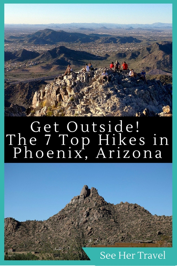 Phoenix Arizona is one of the best cities for day hiking in the entire USA. With all kinds of excellent trails ranging in difficulty just a stone's throw from the city limits, it will be a challenge to just pick one!
