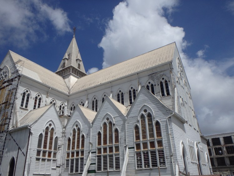 St. George's Cathedral Anglican church in Georgetown Guyana top sights in guyana