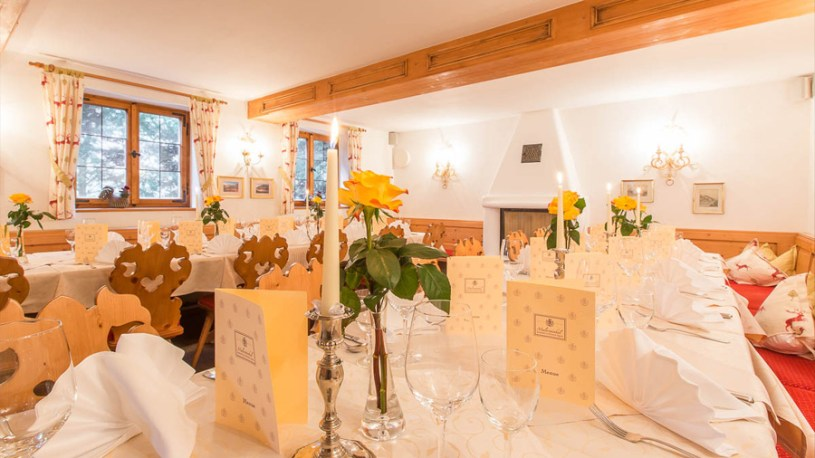 Das Restaurant / Kaminstubn