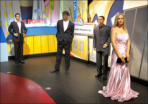 Wax celebrities at the Hollywood Wax Museum (photo 2)