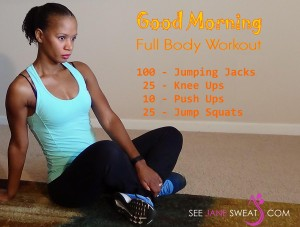 Good Morning Full Body Workout